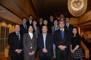 平成卒業生の会連合会-幹事集合写真